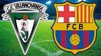 Виллановенсе - Барселона Обзор Матча (28.10.2015)