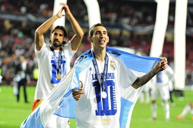 Анхель Ди Мария: «Я никогда не хотел уходить из «Реала»