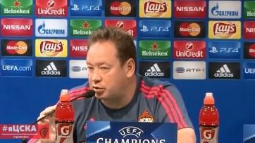 Леонид Слуцкий: «Я напомнил в перерыве, что это Лига чемпионов»