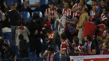 «Бенфика» может быть наказана за недостойное поведение болельщиков в Мадриде