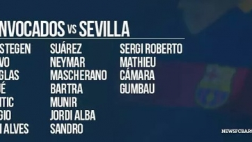 «Барселона» включила Браво в заявку на матч с «Севильей»