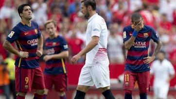 Худший старт в Примере для «Барселоны» с 2003-го года