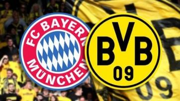 «Бавария» и «Боруссия» объявили стартовые составы