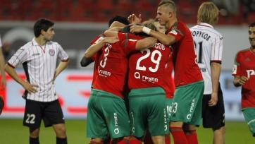 «Локомотив» ожидаемо обыграл «Амкар»