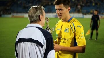 Дмитрий Полоз признан лучшим игроком «Ростова» в сентябре