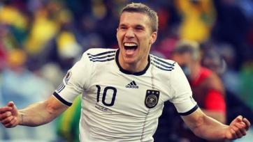 Лукас Подольски не сыграет за немцев в матчах против Ирландии и Грузии