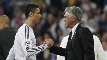 Карло Анчелотти: «Думаю, Роналду завершит карьеру в «Реале»