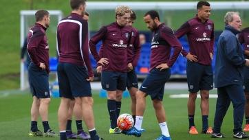 Семнадцатилетний хавбек «Эвертона» провёл тренировку со сборной Англии