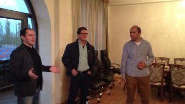 Фабио Капелло посетил базу «Бананца»