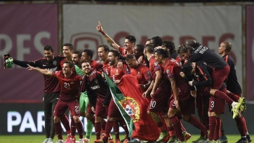 Криштиану Роналду и несколько других ведущих игроков Португалии получили отдых
