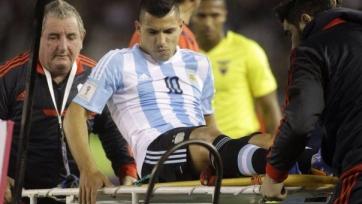 Серхио Агуэро полагает, что пропустит целый месяц