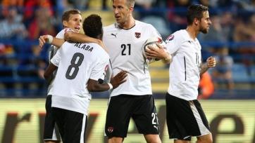 Черногорцы проиграли дома Австрии