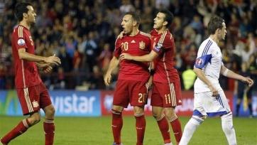 Испания разгромила Люксембург