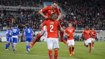 Швейцария разгромила Сан-Марино