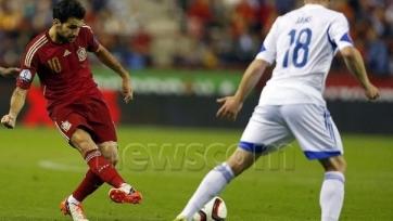 Сеск Фабрегас установил новый рекорд испанской сборной по результативным передачам