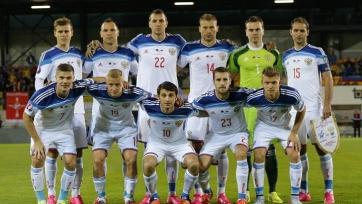 Российская сборная проводит восстановительную тренировку в Новогорске
