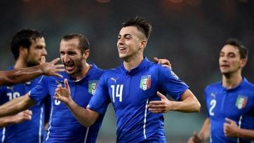 Италия одолела Азербайджан