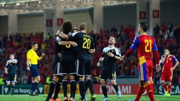 Бельгийцы разгромили Андорру