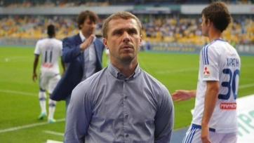 Сергей Ребров: «Хачериди подвёл не просто команду, а всю страну и украинских болельщиков»