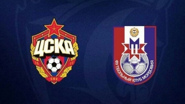 ЦСКА не справился с «Мордовией»