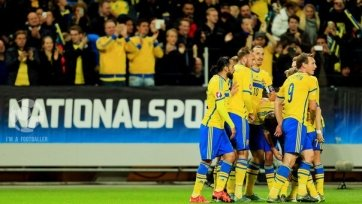 Сборная Швеции выиграла у Молдовы