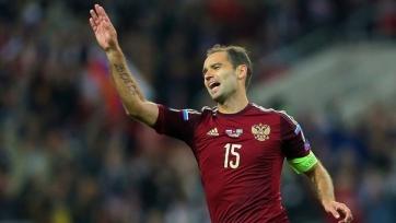 Роман Широков провёл юбилейный, 50-й матч в составе сборной
