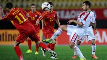 Беларусь и Македония разошлись миром