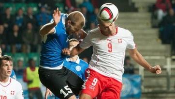 Сборная Швейцарии выиграла в Таллине