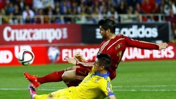 Сборная Испании провела восьмой «сухой» матч кряду