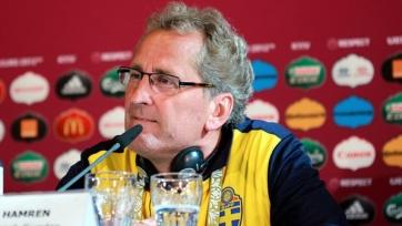 Хамрен: «В матче с Молдовой хотели избежать травм»