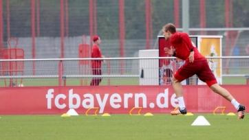 Хольгер Бадштубер впервые с апреля тренировался в общей группе