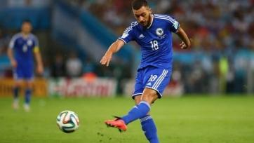 Босния пробилась в «стыки», победы Уэльса и Бельгии
