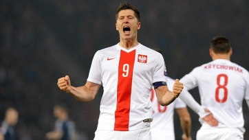 Левандовски – лучший бомбардир отбора на Евро-2016