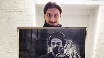 Златан Ибрагимович спел в рекламном клипе