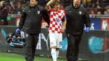 Лука Модрич получил травму приводящей мышцы правого бедра