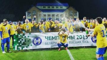 БАТЭ в очередной раз стал чемпионом Беларуси