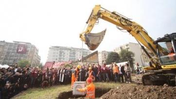 В Турине заложили первый камень в постройку возрождённой арены «Филадельфия»