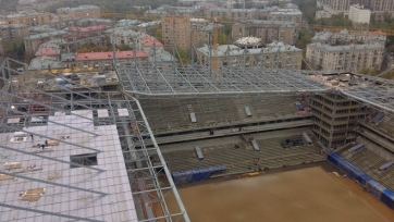 Новый стадион ЦСКА готов на 90-95 процентов