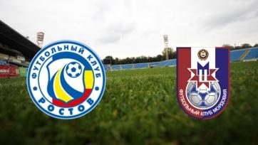 «Ростов» и «Мордовия» определились со стартовыми составами