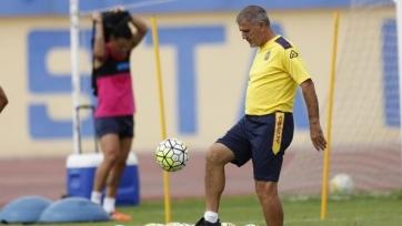 «Лас-Пальмас» расстался с главным тренером