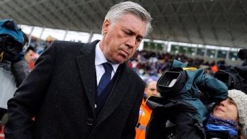 Карло Анчелотти считает, что у «Реала» есть проблемы в нападении