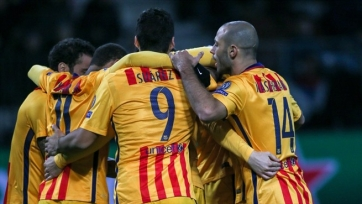 «Барселона» дожала БАТЭ