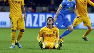 Серхи Роберто получил травму в матче с БАТЭ