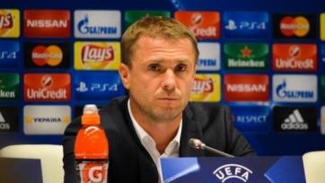 Ребров: «Игроки «Динамо» заслуживают только похвалу»