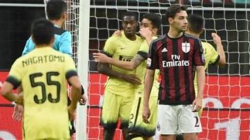 «Милан» снова проиграл «Интеру»
