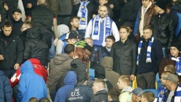 Один из темнокожих болельщиков в матче «Динамо» - «Челси» получил ранение (видео)