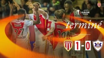 «Монако» одержал первую победу в текущем розыгрыше ЛЕ