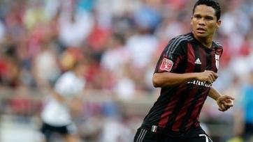 Карлос Бакка пропустил тренировку «Милана»