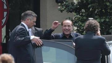 Сильвио Берлускони посетил Миланелло