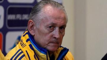 Фоменко будет руководить сборной Украины в стыковых матчах